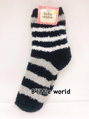 *B' Little World *[現貨]日本限定小雜貨/斑馬條紋毛襪/東京連線
