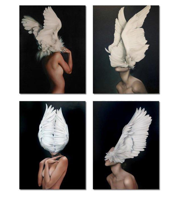 ☺暖暖屋☺傢居藝術館  藝術人物抽像人體藝術裝飾畫/掛畫/有框畫/多款樣式/多種尺寸