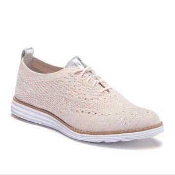 (嘻哈姐弟)Cole Haan Zerogrand Stitchlight 女鞋 針織鞋面 鏤空牛津布輪廓 牛津運動鞋