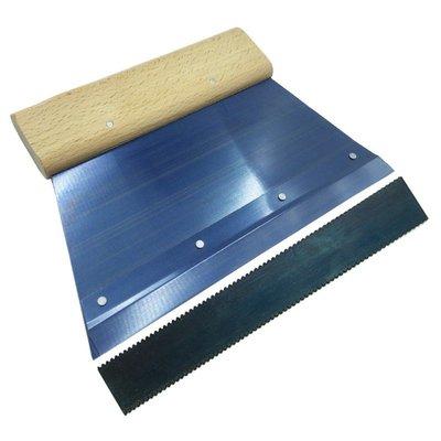 PVC地板刮膠板塑膠運動地板施工工具塗抹刮膠板刮板刮刀 柚子百貨