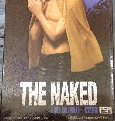 全新海賊王 NAKED BODY CALENDAR 裸身月曆 vol.2 香吉士 黃外套
