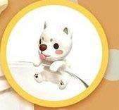 【QQ公仔物語】【NA304】【現貨 滿千免運】柯基犬椪椪與好朋友杯緣系列 柯基 扭蛋 單賣 白柴犬