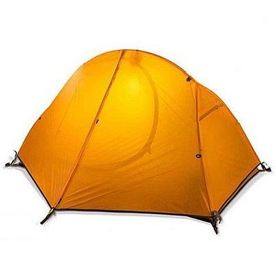 雲尚 20D 矽膠布 單人雙層帳篷 鋁合金帳篷 單人帳篷 登山帳篷