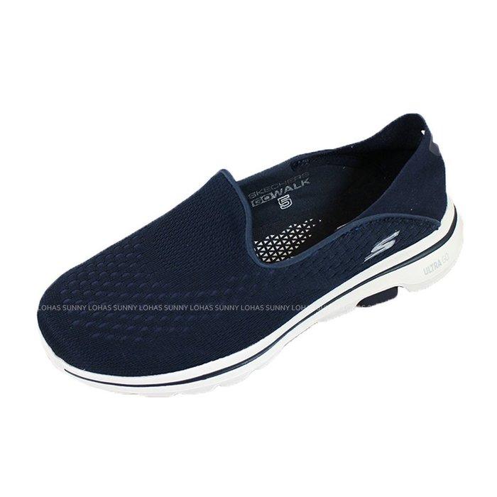 (AZ) SKECHERS 女鞋 GOWALK 5 健走鞋 運動鞋 耐走 休閒鞋 15927NVY 藍 [迦勒]