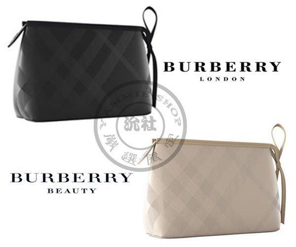 比上次的更讚 專櫃禮 BURBERRY 經典格紋化妝包 手拿包 盥洗包 過夜包 不真你找我 大款(BBS26)