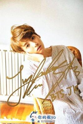 BTS 防彈少年團 田柾國/JUNG KOOK 親筆簽名宣傳照C版 精美包裝#3642