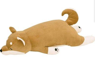❈花子日貨❈日本正版,Liv Heart,柴犬娃娃,趴趴睡夢,柴犬,抱枕,尺寸L