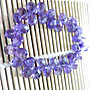 紫水晶手鍊鑽石切割面水滴型