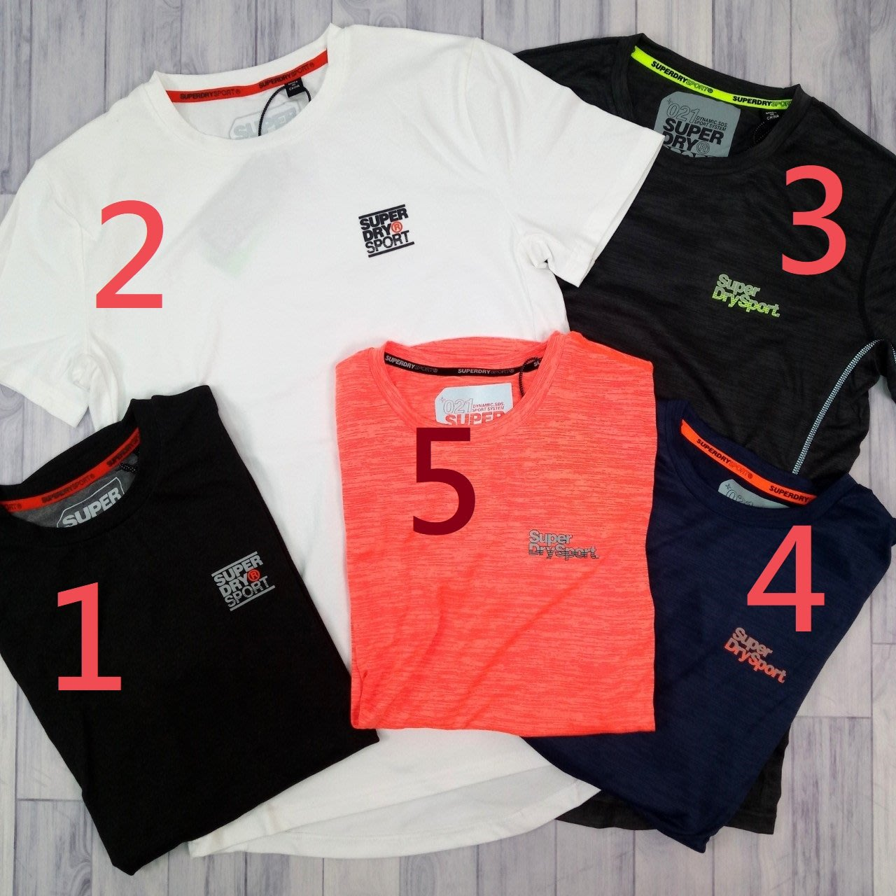 ⚡運動 涼爽 CE4 多款 極度乾燥 前短後長 圓領 男版 superdry 短袖 短T 上衣 保證正品