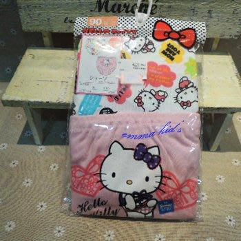 日本童裝 HELLO KITTY 純棉 三角內褲 兩件組 日本空運 #90 #95~小太陽日本精品