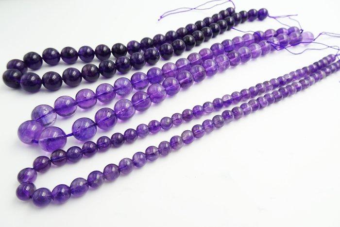 %玉承珠寶% 天然南非紫水晶散珠10MM一顆25元 DIY 貴氣.招財.旺考運