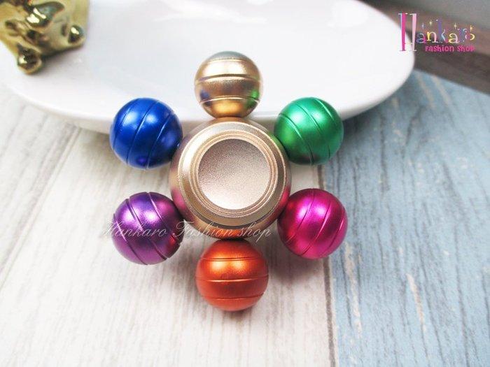 ☆[Hankaro]☆ 流行金屬彩色龍珠造型指尖陀螺手指陀螺