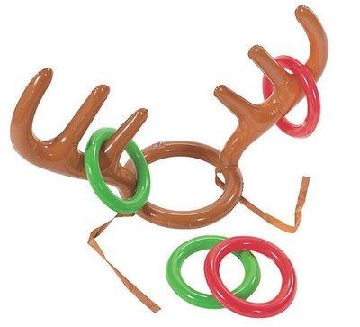 【充氣圈圈】只有圈圈不含鹿角 遊戲 童玩 桌遊