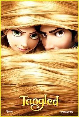 魔髮奇緣 (Tangled) - 長髮公主 - 美國原版雙面電影海報 (2010年預告版)