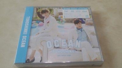 Tohoshinki TVXQ 東方神起 OCEAN (日本初回限定版 CD+DVD)團體卡/JYJ