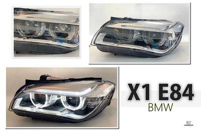 小傑-全新 BMW X1 E84 2011-2015 低階升級高階 LED 導光 光圈 魚眼 大燈 美規用 含HID燈管