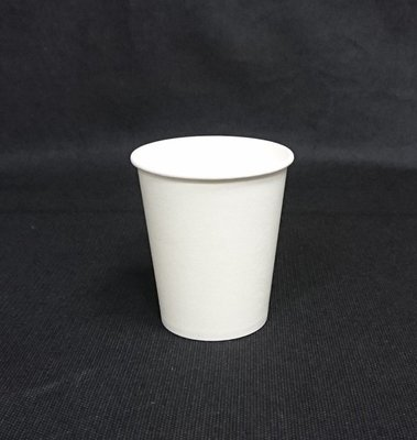 全白色【10oz 白色咖啡杯】300cc  50個/條 紙杯 紙飲料杯 耐熱杯 熱飲杯 防燙杯 熱水杯 全白杯