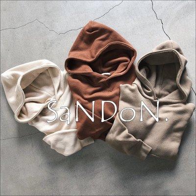 SaNDoN x『UNGRID』摩拳擦掌  獨家邁向包色之旅 秋冬定番款大熱賣連帽可愛連帽A字開衩高園帽T 180814