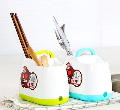 手提韓式小清新筷子籠筷子筒餐具勺子收納...