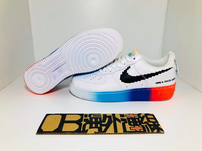 【OB海外代購】Nike Air Force 1 Have a good game 英雄聯盟 夜光 318155-113