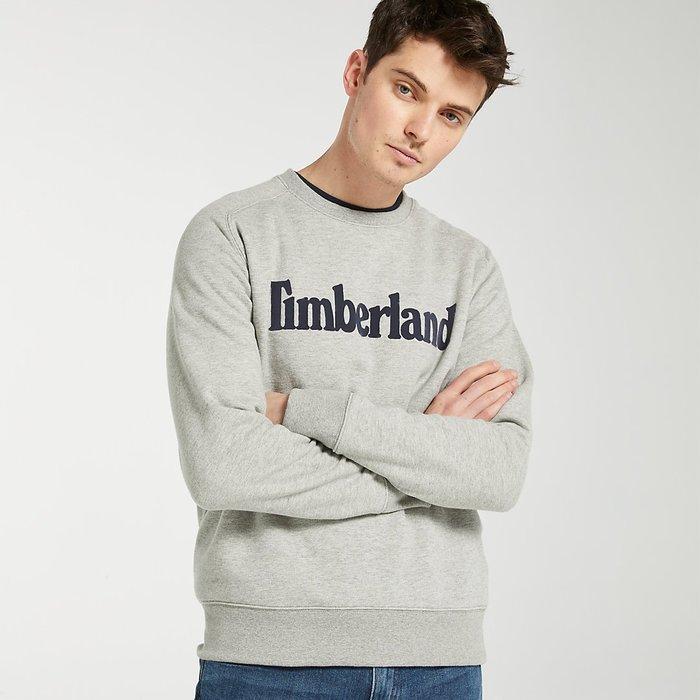 Timberland 踢不爛 大學T 長袖 T恤 長T 內刷毛 男 全新【A1XJ5】美國大衛