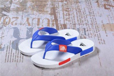 獨家新款 Adidas NMD 拖鞋 沙灘拖鞋 愛迪達 超軟底人字拖 男鞋 水鞋 涼鞋 休閒鞋 涼鞋 白藍