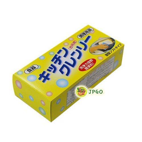 【JPGO日本購】箱購30入~日本製 洗浄力拔群 無磷洗碗皂.家事皂 附吸盤#038-1