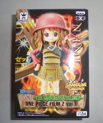 海賊王 航海王 景品One Piece DXF Grandline Children Film Z 劇場版 娜美 小娜美