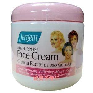 美國 JERGENS Face Cream 三美人按摩面霜(425g)
