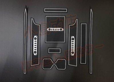 (小鳥的店)鈴木 2019-20 jimny 新吉姆尼 夜光白 門槽墊 水杯墊 置物墊 左右駕版都可用 suzuki