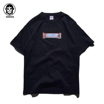 斷碼特價清貨!惡搞創意 街頭潮牌 歐美藝術青年男女 短袖T恤寬松
