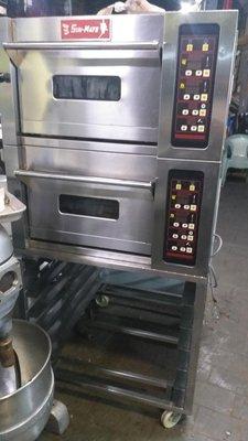 三麥 烤箱 兩層兩盤式的