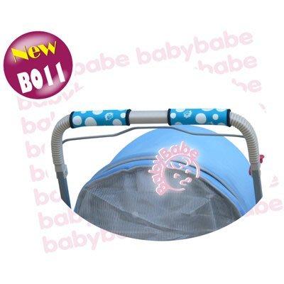╮花媽╭☆同富Babybabe手推車手把防護套(推車用)-粉色/藍色B011