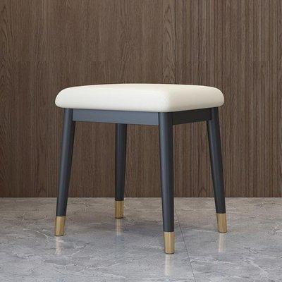 妝凳 北歐輕奢梳妝凳現代簡約家用臥室化妝椅網紅ins梳妝臺凳子YTL【快速出貨】