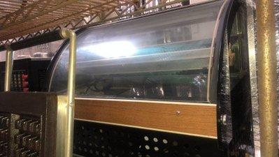 達慶餐飲設備 八里展示倉庫 二手設備  2.5尺桌上型蛋糕櫃 冷藏櫃 中古冰箱 二手冰箱