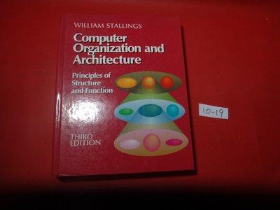 【愛悅二手書坊 10-19】Computer Organization and Architecture
