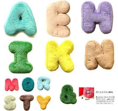 ˙TOMATO生活雜鋪˙日本進口雜貨CRAFTHOLIC系列數字英文字母愛心&造型抱枕