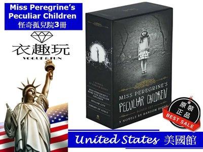 【現貨】Miss Peregrine's Peculiar Children Boxed Set 怪奇孤兒院原文小說