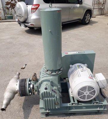 日本ANLET BE-125型 5英吋魯氏鼓風機/ROOTS BLOWER-廢水處理曝氣機/粉粒體輸送/水產養殖