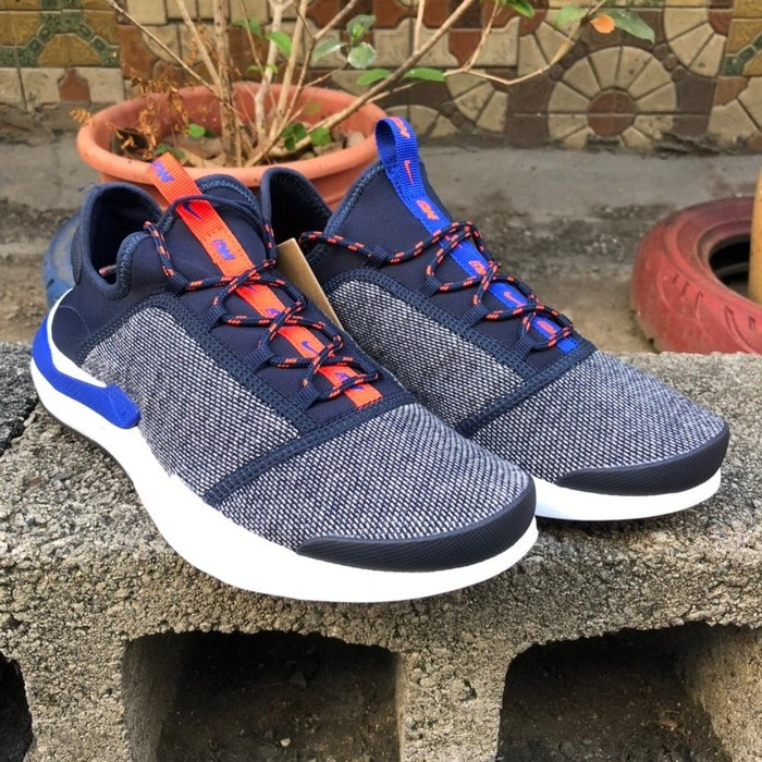 玉米潮流本舖 NIKE Shift One LW AQ2440-400 黑底 藍橘鴛鴦 襪套 武士鞋 慢跑鞋 聯名