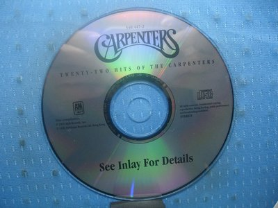 [無殼光碟]KA Carpenters Twenty Two Hits of the Carpenters