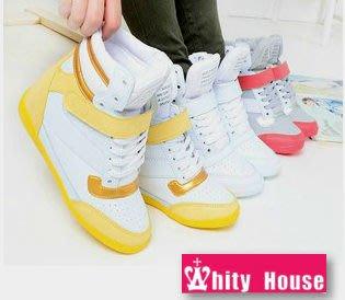 =WHITY= 韓國FUPA品牌 韓國製 手工精緻超舒適厚底鞋完美雙色高級軟皮內增高S3IS431
