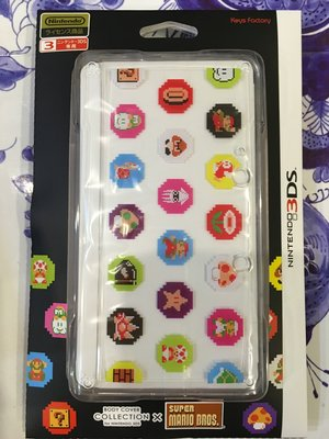 毛毛的窩 3DS 瑪利歐可愛角色透明盒(日本公司貨)~保証全新未拆