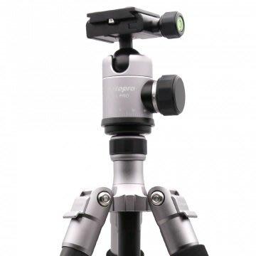 『e電匠倉』FOTOPRO TC-PRO1 碳纖維專業腳架 鈦色旅行 外拍 攝影 拍鳥裝備 收納方便