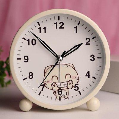 鬧鐘 鬧鐘學生兒童可愛創意卡通夜光床頭簡約臥室電子小鬧鐘