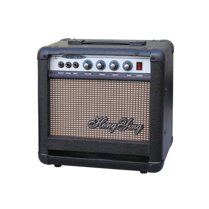 ☆唐尼樂器︵☆ Hong Ying GB-15 15瓦 Bass 電貝斯音箱(內建耳機練習功能)