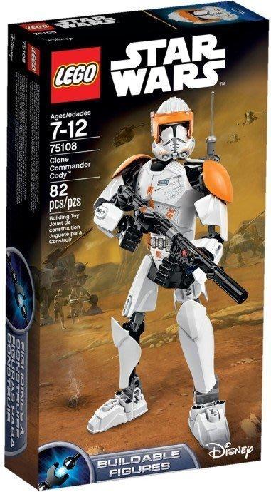【LEGO 樂高 】100% 全新正品 益智玩具 積木/ Star Wars 星際大戰: 複製人指揮官寇迪 75108