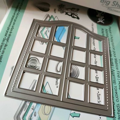 阿里家 scrapbook DIY相冊卡片薄板模具 19094 賀卡開窗 窗戶