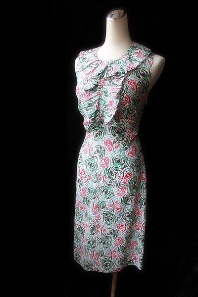 *Beauty*PRADA花版荷葉領洋裝 單件賣場 WE12