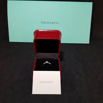 《三福堂國際珠寶名品1142》Tiffany Harmony™ 鑽戒PT950(E VVS2)